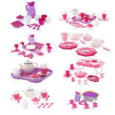 WADER Kaffeeservice GIRLS 18 36-teilig Spielservice Teeparty Kindergeschirr NEU