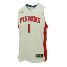 "Detroit Pistons Youth Size Reggie Jackson Adidas Swingman Jersey +2"" New"