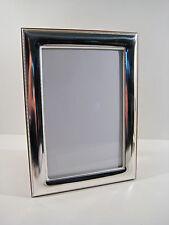 Cornici argento 925 bilaminato,x foto da 9x13 a 18x24,liscia con bordini,TOP