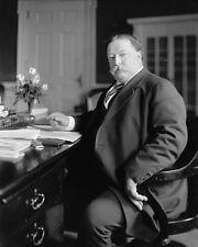 President William Howard Taft at his White House office desk Photo Print