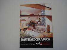 advertising Pubblicità 1976 CERAMICA SANTERNO
