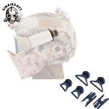 Fast Helmet Vision Goggle Swivel Clips Big Size Airsoft Helmet Glasses Rail Gear