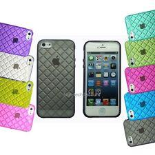 Housse etui coque pochette silicone gel pour Apple iPhone 5 + film écran