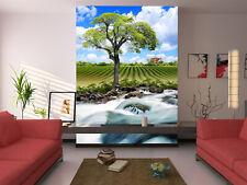 3D Cèdre 03 Photo Papier Peint en Autocollant Murale Plafond Chambre Art