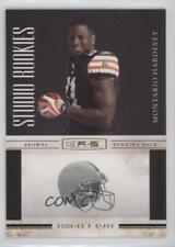 2010 Panini Rookies & Stars Studio Gold #8 Montario Hardesty Cleveland Browns