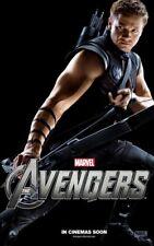 Avengers Hawkeye Jeremy Renner 35mm Film Cell strip very Rare var_d