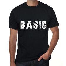 basic Homme T-shirt Noir Cadeau D'anniversaire 00546