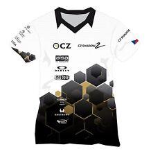 Original Men's World class shooting Team T-shirt New Czech Product