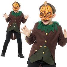 Child Goosebumps Jack O Lantern Costume Boys Halloween Fancy Dress New