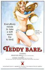 142456 TEDDY BAR Sex XXX Exploitation Wall Print Poster Affiche