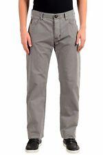 Armani Jeans AJ Men's Gray Straight Leg Light Jeans Size 32 34 36