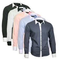 Herrenhemd Herren Hemd Hochzeit Shirt Binder de Luxe Langarm 809