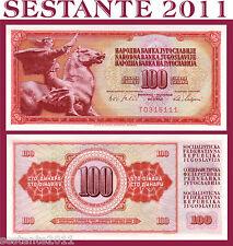 YUGOSLAVIA  100 DINARA 1965  P  80b,    FDS / UNC