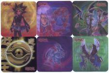 Ω YUGIOH Ω Lot de 6 Magnifiques Cartes HOLO 3D FLIX-L01