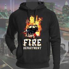 Alta Calidad Sudadera BOMBEROS FIRE DEPARTMENT, algodón