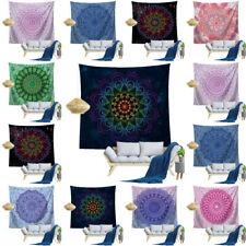 Hippie Mandala Tapestry Boho Wall Hanging Sofa Cover Beach Towel Carpet  Indian