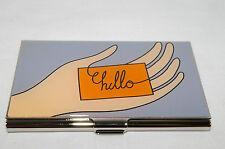 "Acme Studio Card Case ""HELLO"" Ayse + BiBi Business Card Holder CBIR01BC"