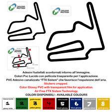 MOTEGI CIRCUIT sticker auto moto tuning adesivo pvc prespaziato 5 pz.