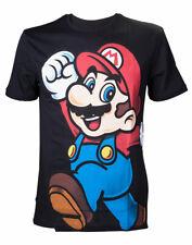 Nintendo t-shirt super mario Black