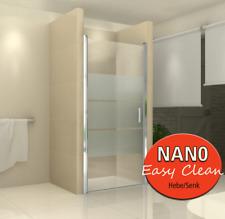 Duschabtrennung Glas Dusche Nischentür VIELE AUSFÜHRUNGEN *NANO  von 750-1000 mm