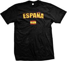 Espana Bold Country Flag - Spain Spanish Pride Mens T-shirt