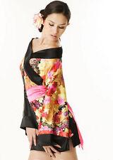 Disfraz Adulto Geisha Girl Kimono Japonés Oriental Chino Damas Vestido de fantasía