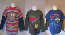 Boden appliqué à manches longues T Shirt Tops entièrement neuf sans étiquette Âges 1-14 beaucoup de designs!