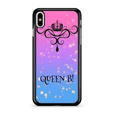 Reine B simple Citation à pois violet fin rose Mélange ciel bleu