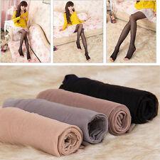 Qu_ Fashion Womens Sheer Hosiery Pantyhose Toeless Stockings Peep-toe Sock Exqui