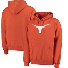 004e09ce32df5 Texas Longhorns Tx. Orange Basic Silhouette Blended Hoodie Sweatshirt