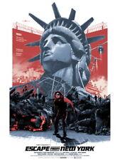 Escape from New York 1981 Movie Snake Plissken Huge Print POSTER Affiche