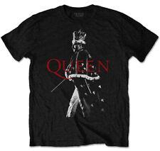 Queen 'Freddie Crown' (Black) T-Shirt - NEW & OFFICIAL!