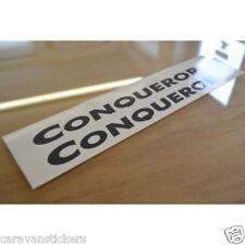 SWIFT Challenger/Conqueror - (CUT VINYL) - Caravan Sticker Decal Graphic - PAIR