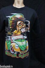 T-shirt Rasta manche courte neuf 100% coton