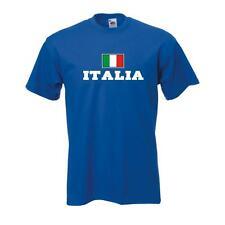 T-shirt Italia (Italia), flagshirt, Fanshirt S - 5xl (wms02-29a)