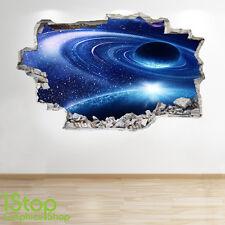 Adesivo parete dello spazio 3d Look-Moon PIANETA GALASSIA STELLE Camera da Letto per Ragazzi z249