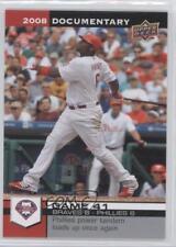 2008 Upper Deck Documentary 1401 Ryan Howard Philadelphia Phillies Baseball Card