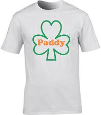 St. Patricio T-Shirt Hombre Paddy Patrick BANDERA IRLANDESA T-Shirt Shamrock