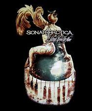 SONATA ARCTICA cd cvr STONES GROW HER NAME Official SHIRT LRG New oop