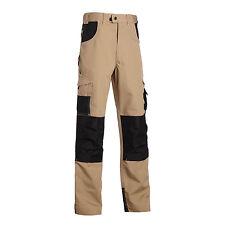 Pantalon de travail homme renfort ADAM NW beige   38 40 42 44 46 48 50 52 54 56