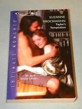 Taylor's Temptation by Suzanne Brockmann SIM#1087 TD&D