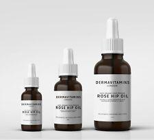 Dermavitamins 100% Orgánico Prensado en frío Aceite De Rosa Mosqueta
