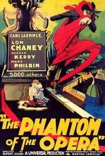 66244 The Phantom of the Opera Movie Lon Chaney Sr. Wall Print Poster CA