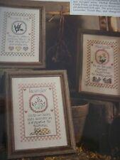 3 Herbs Marigold, Sweet Bay, Lavendar Part #2 Magazine Cross Stitch Pattern (P)