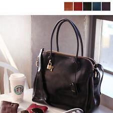 New Womens GENUINE LEATHER purse handbag Satchel TOTE SHOULDER Bag [WB1186]