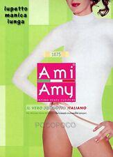 MAGLIA LUPETTO DONNA MANICA LUNGA MICROFIBRA AMI AMY ART. 1075