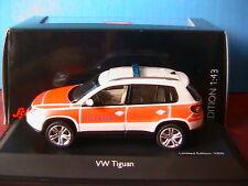 VW TIGUAN NOTARZT TRACK & FIELD SCHUCO 04985 1/43 WHITE