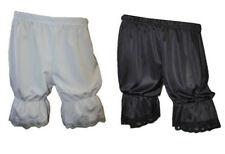 Blanco Negro Steampunk corto Bombacho Pantalones Fancy Dress período Disfraces Halloween