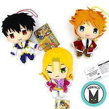 Lot Japan Magic-Kyun! Renaissance Louis Anjo Teika Rintaro Plush Doll Rare FuRyu