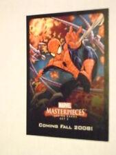 MARVEL MASTERPIECES SET 3 PROMO CARD SPIDER-MAN